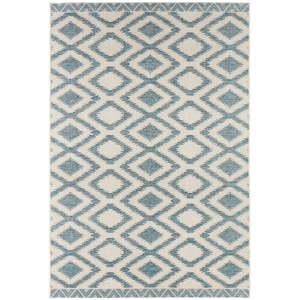 Modro-krémový venkovní koberec Bougari Isle, 160x230cm