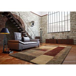 Hnědý koberec Universal Delta, 160x230cm