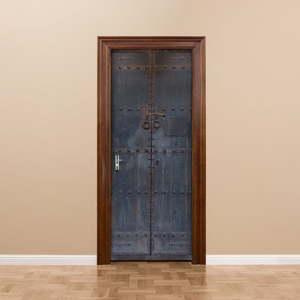 Adhezivní samolepka na dveře Ambiance Medieval Door, 83 x 204 cm