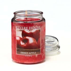 Vonná svíčka ve skle s vůní sladkého jablka Candle-Lite, doba hoření až 120hodin