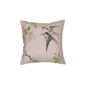 Dekorativní polštář BePureHome Swallows, 45x45cm